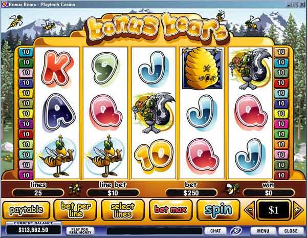 slots games with bonus