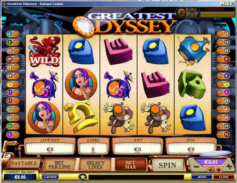 New Playtech Slots - Greatest Odyssey