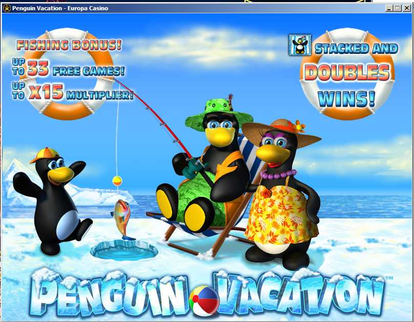 Play Penguin Vacation Slots Online at Casino.com Canada