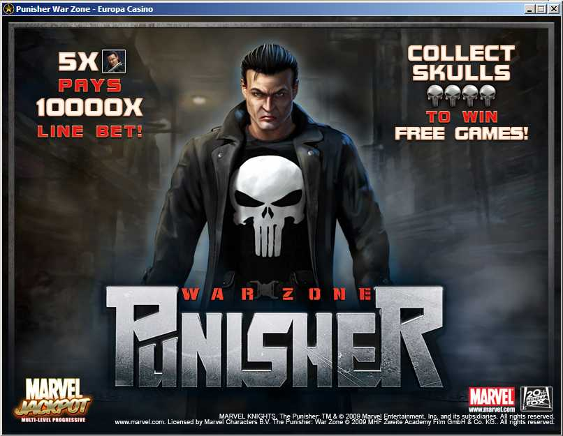 The Punisher™ Slot Machine Game to Play Free in Cryptologics Online Casinos