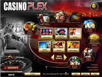 Online Casino Plex Lobby Screenshot