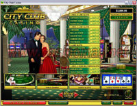 City Club Casino Lobby Screenshot