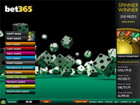 Casino at Bet365 Lobby Screenshot